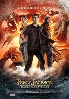 Percy Jackson: Sea of Monsters - Romanian Movie Poster (xs thumbnail)