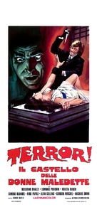 Terror! Il castello delle donne maledette - Italian Movie Poster (xs thumbnail)