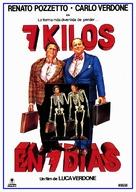 Sette chili in sette giorni - Spanish Movie Poster (xs thumbnail)