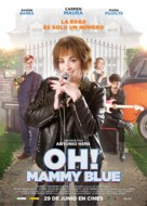 Oh! Mammy Blue - Spanish Movie Poster (xs thumbnail)