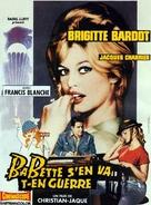 Babette s'en va-t-en guerre - French Movie Poster (xs thumbnail)