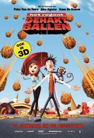 Cloudy with a Chance of Meatballs - Belgian Movie Poster (xs thumbnail)