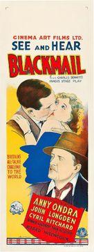 Blackmail - Australian Movie Poster (xs thumbnail)