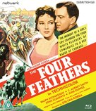 The Four Feathers - British Blu-Ray movie cover (xs thumbnail)