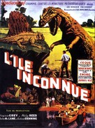 Unknown Island - French Movie Poster (xs thumbnail)