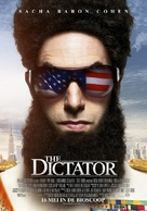 The Dictator - Dutch Movie Poster (xs thumbnail)