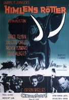 The Roots of Heaven - Swedish Movie Poster (xs thumbnail)