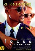 Focus - Hungarian Movie Poster (xs thumbnail)