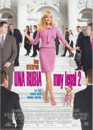 Legally Blonde 2: Red, White & Blonde - Spanish Movie Poster (xs thumbnail)