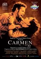 Carmen 3D - Romanian Movie Poster (xs thumbnail)