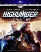 Highlander 2 - Blu-Ray movie cover (xs thumbnail)
