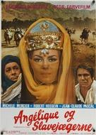 Angélique et le sultan - Danish Movie Poster (xs thumbnail)