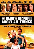 The Heart Is Deceitful Above All Things - German Movie Cover (xs thumbnail)