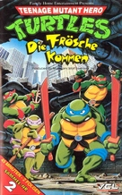"""Teenage Mutant Ninja Turtles"" - German VHS movie cover (xs thumbnail)"
