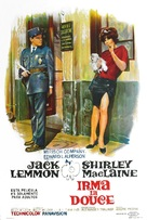 Irma la Douce - Argentinian Movie Poster (xs thumbnail)