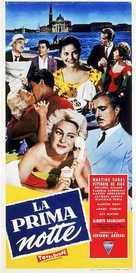 La prima notte - Italian Movie Poster (xs thumbnail)