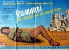 Romarei, das Mädchen mit den grünen Augen - German Movie Poster (xs thumbnail)