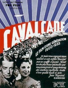 Cavalcade - French Movie Poster (xs thumbnail)