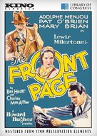 The Front Page - DVD cover (xs thumbnail)