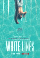 """White Lines"" - Portuguese Movie Poster (xs thumbnail)"
