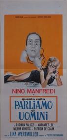 Questa volta parliamo di uomini - Italian Movie Poster (xs thumbnail)