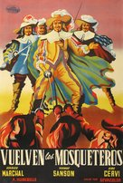 Les trois mousquetaires - Spanish Movie Poster (xs thumbnail)