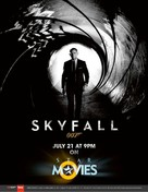 Skyfall - British Re-release movie poster (xs thumbnail)