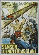 Sansone contro il corsaro nero - Turkish Movie Poster (xs thumbnail)
