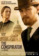 The Conspirator - Italian Movie Poster (xs thumbnail)