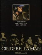 Cinderella Man - For your consideration movie poster (xs thumbnail)