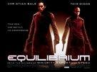 Equilibrium - British Movie Poster (xs thumbnail)