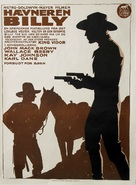 Billy the Kid - Danish Movie Poster (xs thumbnail)
