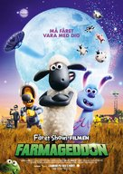 A Shaun the Sheep Movie: Farmageddon - Swedish Movie Poster (xs thumbnail)