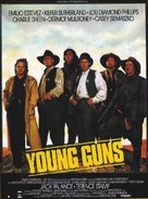 Young Guns - French Movie Poster (xs thumbnail)