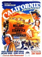 California - French Movie Poster (xs thumbnail)
