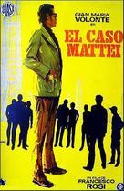 Caso Mattei, Il - Spanish Movie Poster (xs thumbnail)