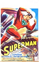 Superman - Belgian Movie Poster (xs thumbnail)
