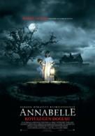 Annabelle: Creation - Turkish Movie Poster (xs thumbnail)