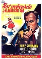Es geschah am hellichten Tag - Belgian Movie Poster (xs thumbnail)
