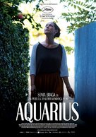 Aquarius - Colombian Movie Poster (xs thumbnail)