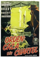 He Walked by Night - Spanish Movie Poster (xs thumbnail)