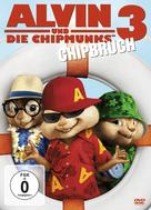 Alvin and the Chipmunks: Chipwrecked - German DVD movie cover (xs thumbnail)