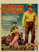 Return of the Texan - Belgian Movie Poster (xs thumbnail)