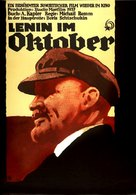 Lenin v oktyabre - German Movie Poster (xs thumbnail)