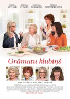 Book Club - Latvian Movie Poster (xs thumbnail)
