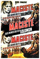 Maciste nelle miniere di re Salomone - Belgian Movie Poster (xs thumbnail)