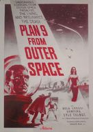 Plan 9 from Outer Space - Danish Movie Poster (xs thumbnail)