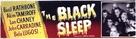 The Black Sleep - British Movie Poster (xs thumbnail)