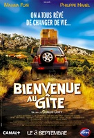 Bienvenue au gîte - French Movie Poster (xs thumbnail)