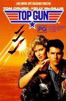 Top Gun - Australian VHS movie cover (xs thumbnail)